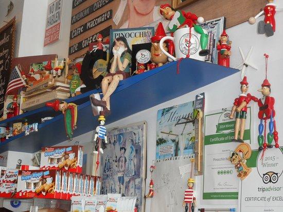 Pinocchio Italian Deli Miami Beach