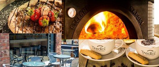 Tredici Wood Fired Pizzeria & Bakery Pudza & Hot Chocolate