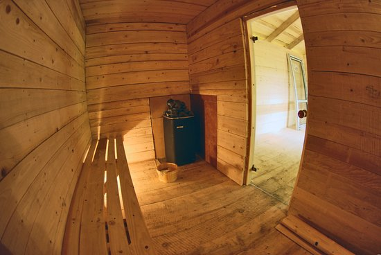 Wańkowa, Polska: Sauna