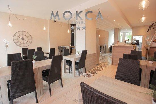Hôtel Le Mokca : La Salle de Restauration