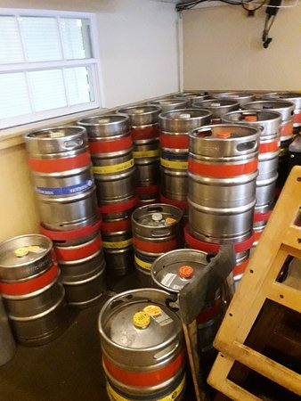 Hofbrau Beerhall: depósito