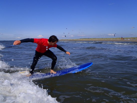 Katwijk, The Netherlands: Reguliere surfles
