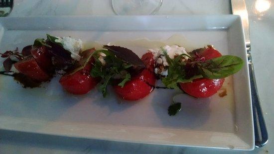 Azure Restaurant: Special tomato dish