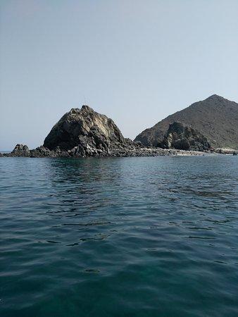 Khorfakkan, Vereinigte Arabische Emirate: From Khor Fakkan to the Sharq island