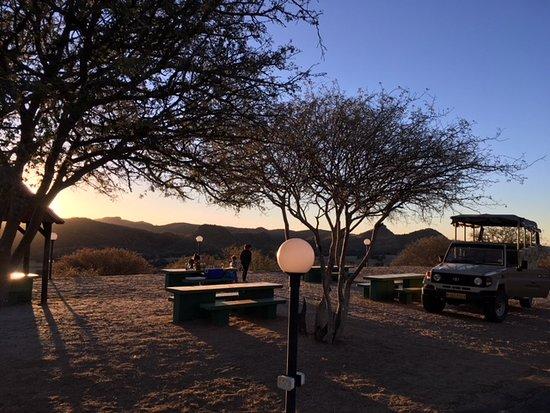 Midgard, Namibia: picnic