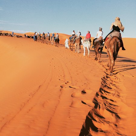 Meknes, Marokko: to have a night in the middle of desert