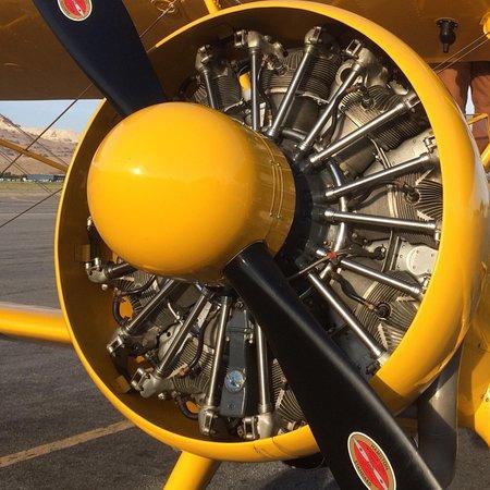 Pratt & Whitney R-985 engine powering 1942 Stearman