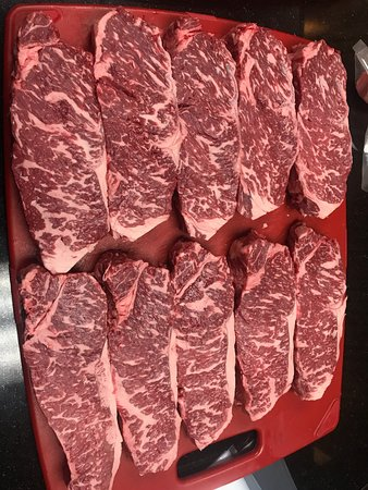 Our Black Label Wagyu Beef From Snake River Farms Picture Of Main Street Grille North Canton Tripadvisor