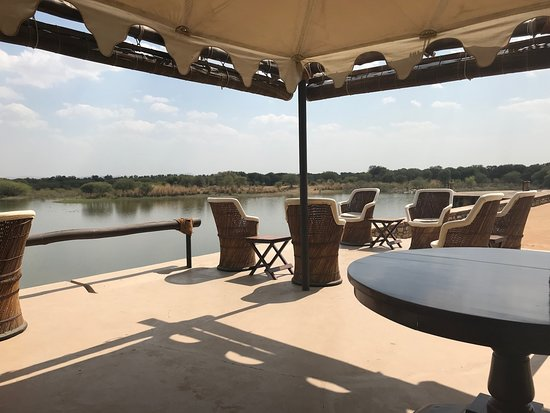 Chhatra Sagar: View from terrace.
