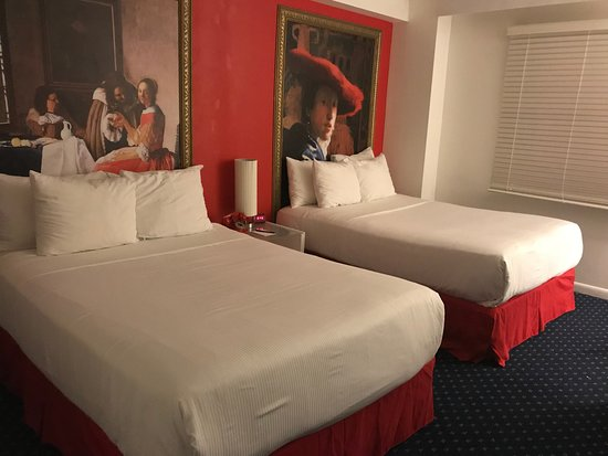 chambre 2 lits - Bild von Red South Beach Hotel, Miami Beach ...