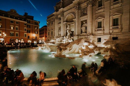Rooma, Italia: FONTANA DI TREVI