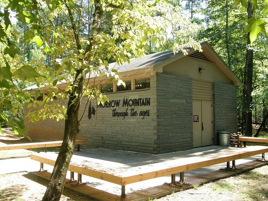 Morrow Mountain State Park includes a small nature center.