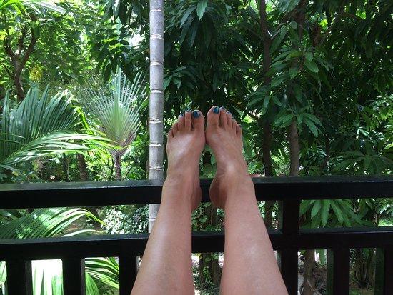 Sonalong Boutique Village & Resort: Balcony