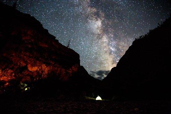 Idaho River Journeys: Camping under the Milky Way.