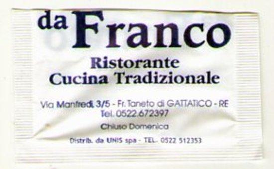 Gattatico, Italy: biglietto