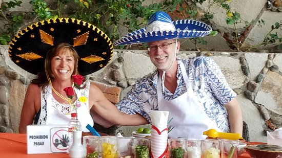 Salsa Mazatlán: All smiles in the midst of hot salsa competition!