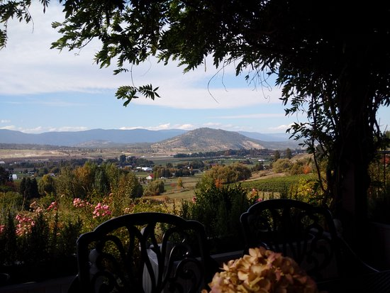 Vernon, Canada: View from Ancient Hill Winery
