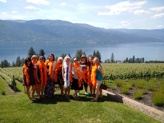 Vernon, Canada: At Arrowleaf Winery