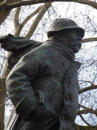 Statue de Georges Clemenceau