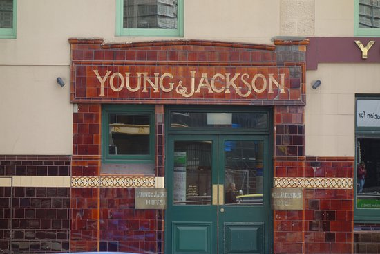 Young And Jacksons Hotel Tiled Exterior
