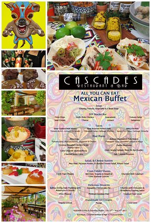 Mexican Buffet 2017 Picture Of Cascades Restaurant Bar Goulburn