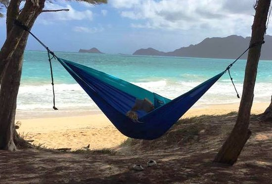 Bellows Air Force Station: Bring your own hammock!
