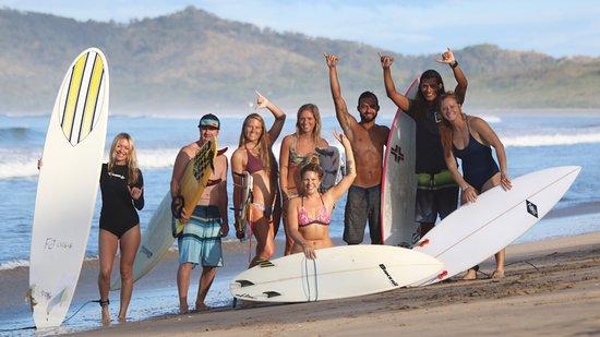 Playa Grande, كوستاريكا: Stoked!