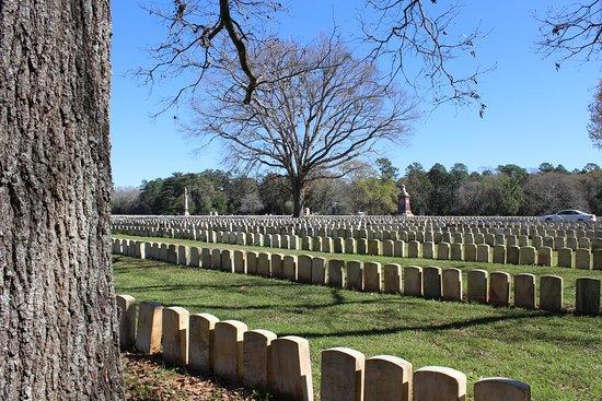 Americus Garden Inn Bed & Breakfast: Andersonville POW Cemetery