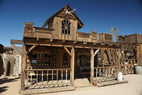 Pioneertown, Kalifornie: One of the old Buildings