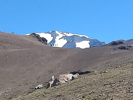 Valle Nevado, Chile: Montanha nevada