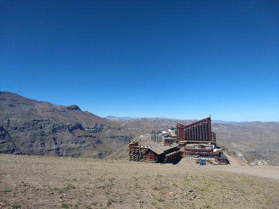Valle Nevado, Chile: Vista de cima