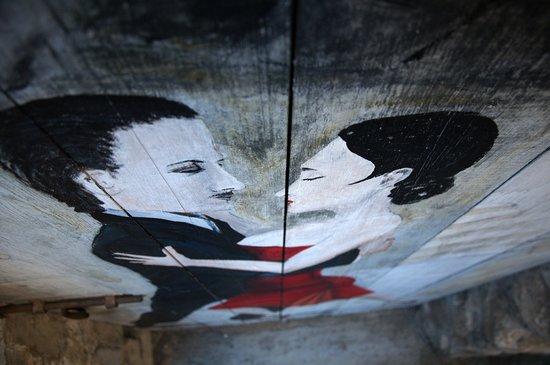 Valloria, Italia: un tango in prospettiva dall'alto