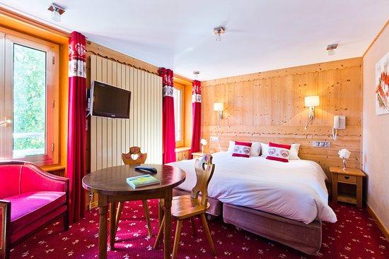 Hotel l'Aiguille Du Midi: Chambre catégorie Montagne