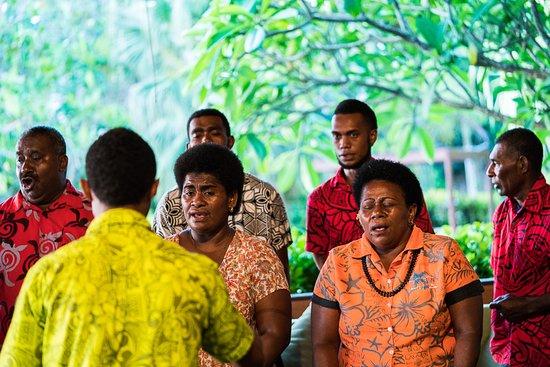 Beqa Island, Fiji: Choir Visit