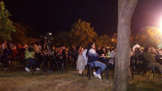 Festival en plaza de Panaholma