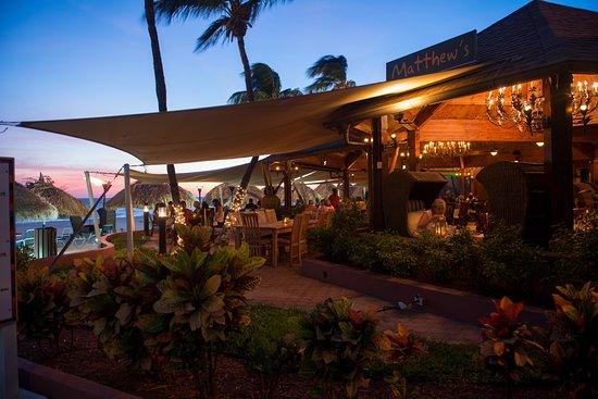 Matthew S Beachside Restaurant Oranjestad Menu Prices