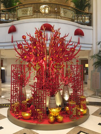 decorations for Chinese New Year! - Picture of Radisson