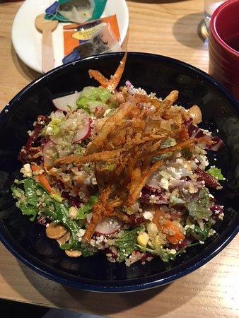 Quinoa Salad With Crispy Leeks Picture Of Doc B S Fresh