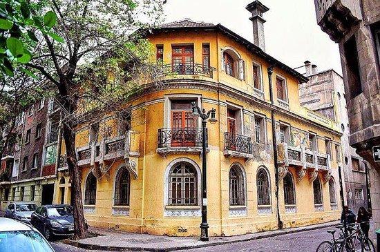 Região Metropolitana de Santiago, Chile: City Tours Santigo - Barrio Lastarria