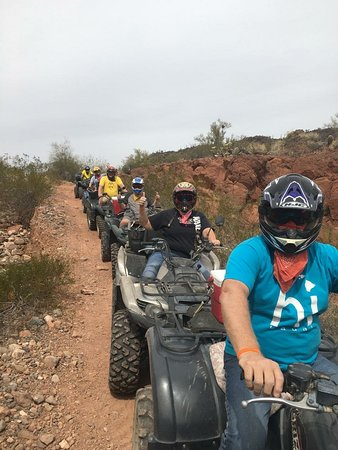 Wickenburg, Αριζόνα: Steve took use on a great ride of Box Canyon. Would highly recommend this ride.