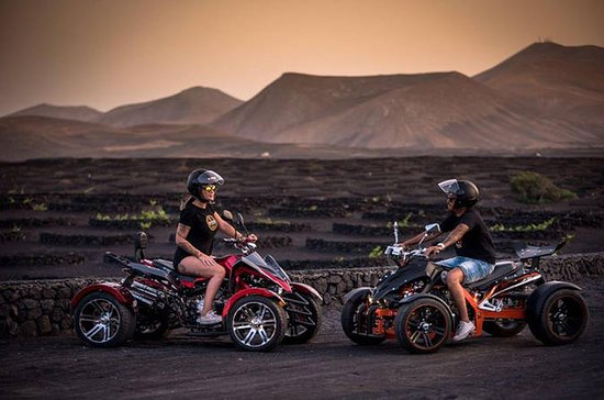 4-hour Volcanoes Tour by Quad in Lanzarote