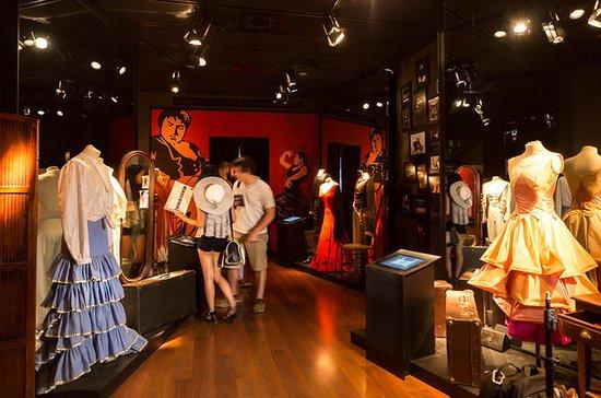 Boleto de entrada al flamenco del Museo del Baile