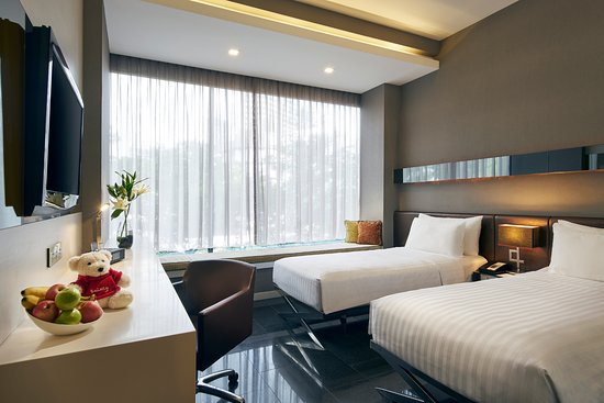 The Quincy Hotel by Far East Hospitality: Studio Twin Room