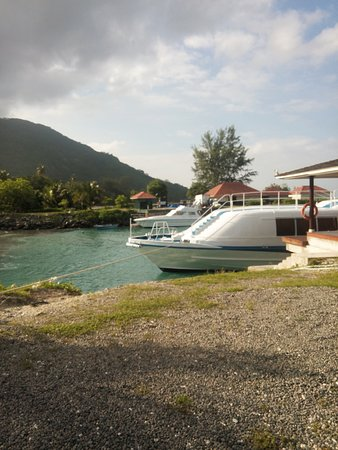 Beau Vallon, Seychelles: Sillouhette Island Seychelles