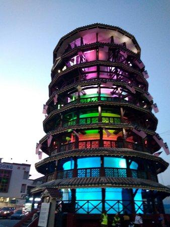 The Leaning Tower of Teluk Intan is a clock tower in Teluk Intan, Hilir Perak District, Perak, M