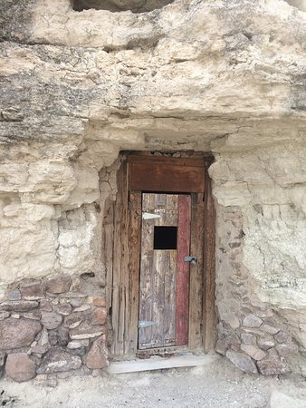 Miners Caves on the edge of Shoshone town