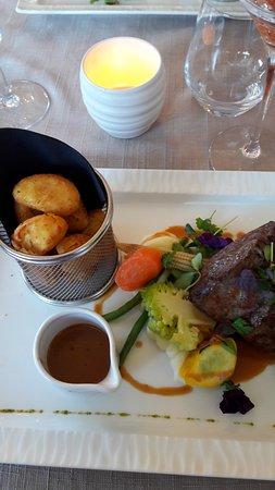 Eischen, Luxembourg: Haptplat Filet OK Cuison wonnerbar