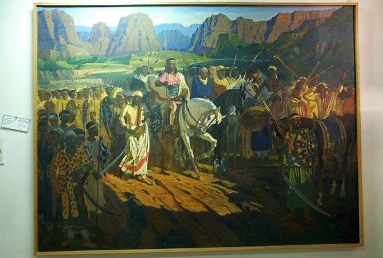 National Museum of Ethiopia: Ethiopian art
