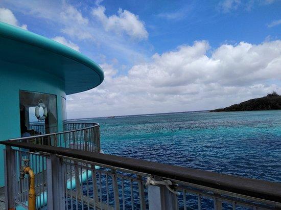 フィッシュアイマリンパーク, 海中展望塔