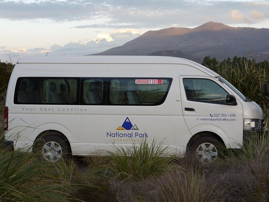National Park Village, New Zealand: National Park Shuttles